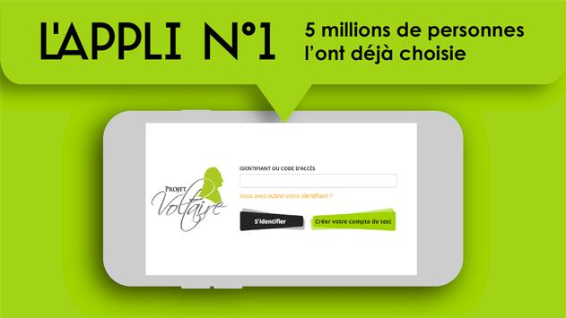 Orthographe Projet Voltaire screenshot 1