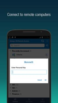 RemotePC screenshot 1