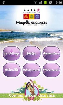 Camping Mayotte Biscarrosse poster