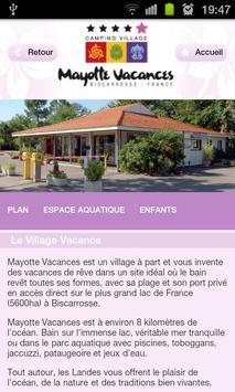 Camping Mayotte Biscarrosse screenshot 1