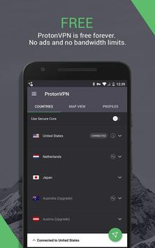 ProtonVPN (Outdated) - See new app link below screenshot 5