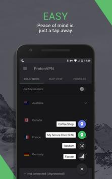 ProtonVPN (Outdated) - See new app link below screenshot 1