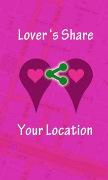Lovers Share Your Location poster