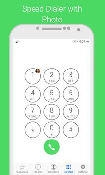 i Dialer OS 10 - Contact Book скриншот 1