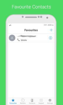 i Dialer OS 10 - Contact Book скриншот 5