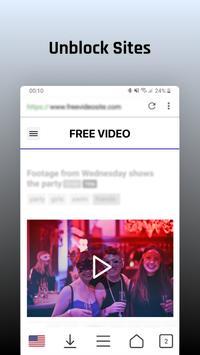 Desbloquear sitios y descarga de videos gratis Poster