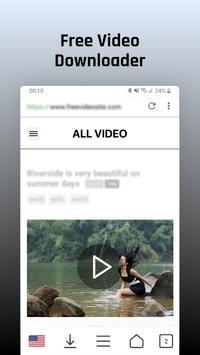 Desbloquear sitios y descarga de videos gratis captura de pantalla 1