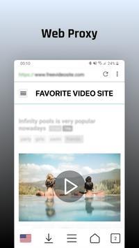 Desbloquear sitios y descarga de videos gratis captura de pantalla 3