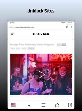 Desbloquear sitios y descarga de videos gratis captura de pantalla 5