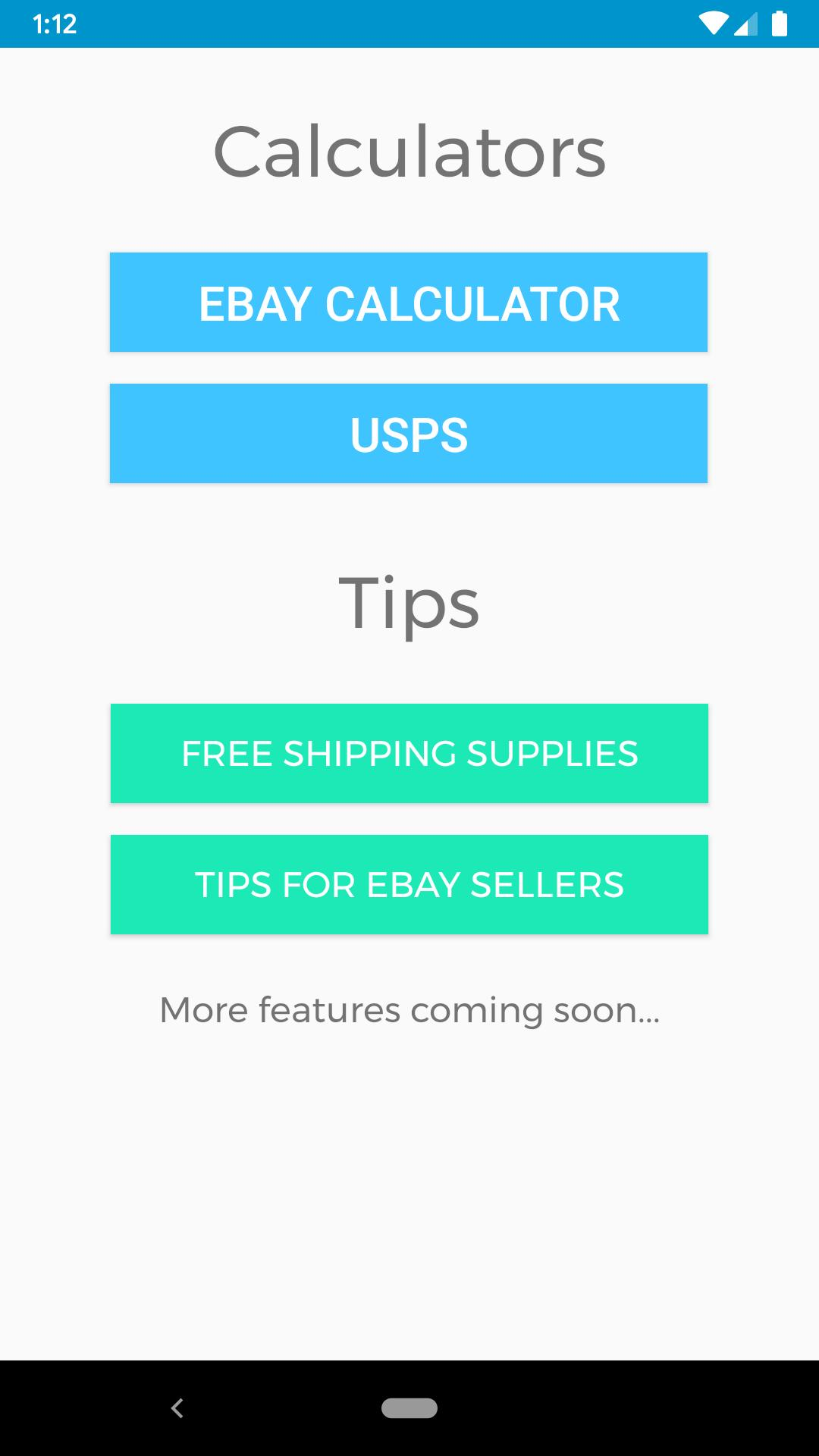 Tool For Ebay Sellers Tips Shipping Calculator For Android Apk Download