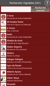 Vignobles de l'Espagne - Vins capture d'écran 1