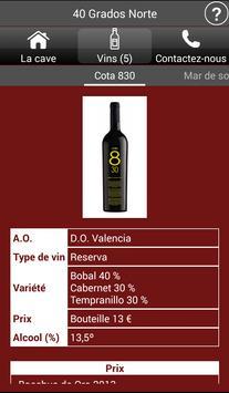 Vignobles de l'Espagne - Vins capture d'écran 4