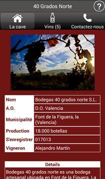Vignobles de l'Espagne - Vins capture d'écran 9