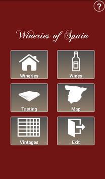 Wineries of Spain - Wines poster