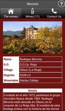 Wineries of Spain - Wines screenshot 2