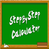 STEP BY STEP CALCULATOR icon
