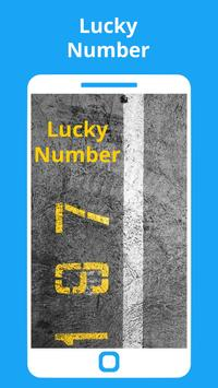 Today's Lucky Numbers poster