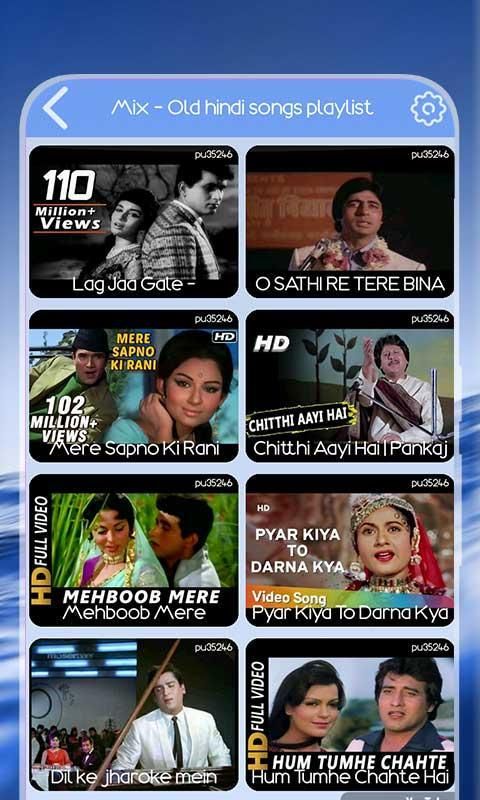 Hindi Old Video Song For Android Apk Download