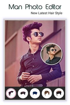 Stylish Photo Editor For Boys Free poster