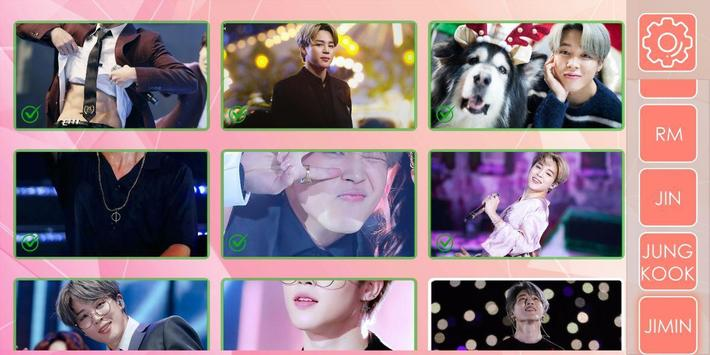 BTS KPOP Photo Puzzle 截圖 1
