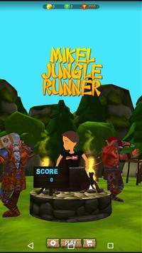 Mikel Ultimate Jungle Runner poster