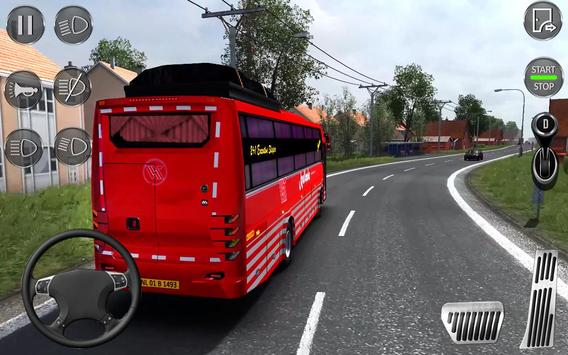 Euro Coach Bus Simulator 2020 : Bus Driving Games poster