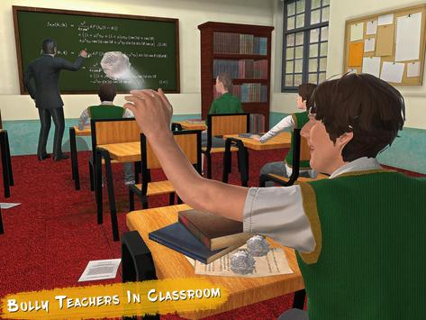 Real High School Fighting - Gangster Crime Sim 3D screenshot 8