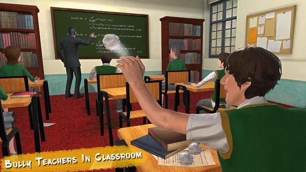 Real High School Fighting - Gangster Crime Sim 3D screenshot 1