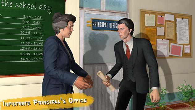Real High School Fighting - Gangster Crime Sim 3D screenshot 3