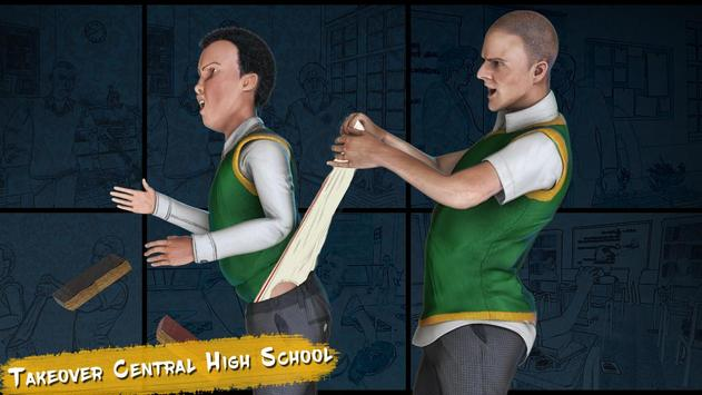 Real High School Fighting - Gangster Crime Sim 3D screenshot 5