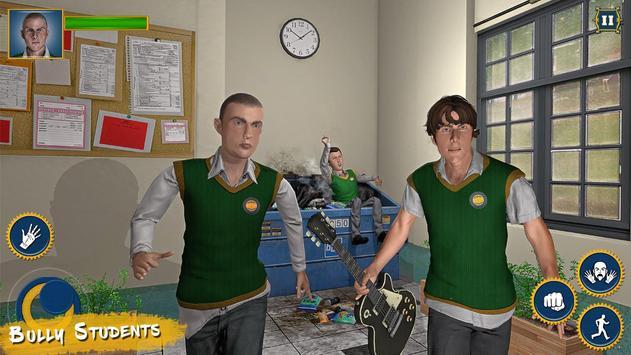 Real High School Fighting - Gangster Crime Sim 3D screenshot 6