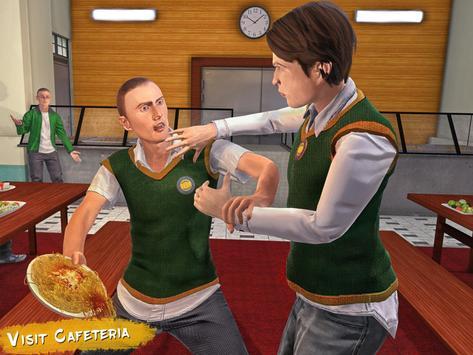 Real High School Fighting - Gangster Crime Sim 3D screenshot 16