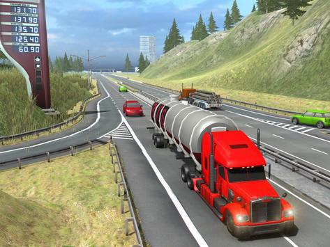 Truck Simulator Transporter Game - Extreme Driving screenshot 14