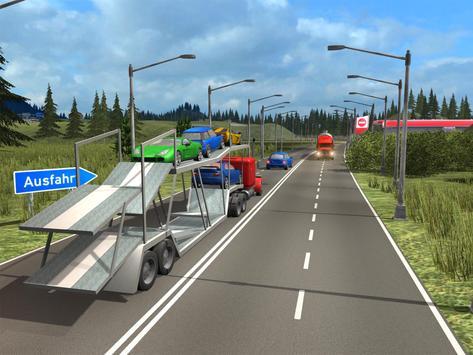 Truck Simulator Transporter Game - Extreme Driving screenshot 16