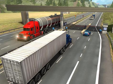 Truck Simulator Transporter Game - Extreme Driving screenshot 11