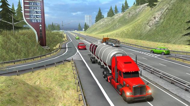 Truck Simulator Transporter Game - Extreme Driving screenshot 2