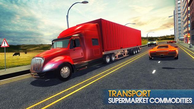 Truck Simulator Transporter Game - Extreme Driving screenshot 1