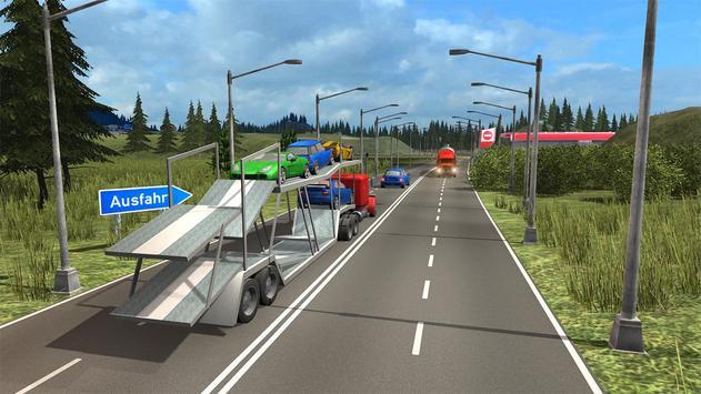 Truck Simulator Transporter Game - Extreme Driving screenshot 4