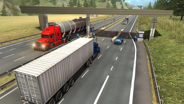 Truck Simulator Transporter Game - Extreme Driving screenshot 5