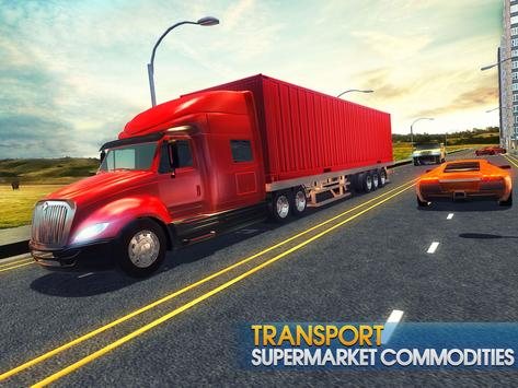 Truck Simulator Transporter Game - Extreme Driving screenshot 7