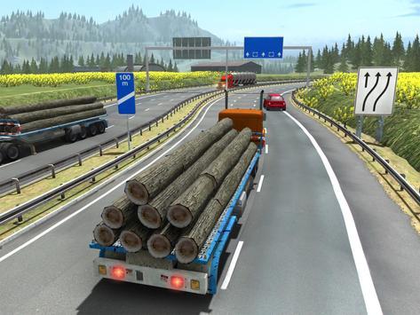 Truck Simulator Transporter Game - Extreme Driving screenshot 9