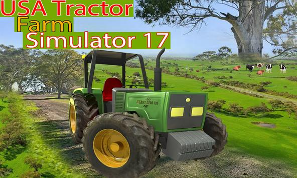 USA Tractor Farm Simulator #1 poster