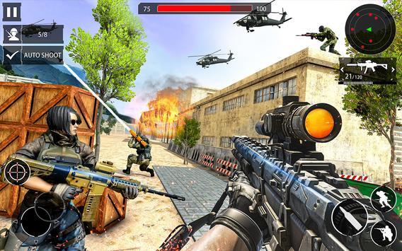 Counter Terrorist Gun Strike: Free Shooting Games screenshot 1