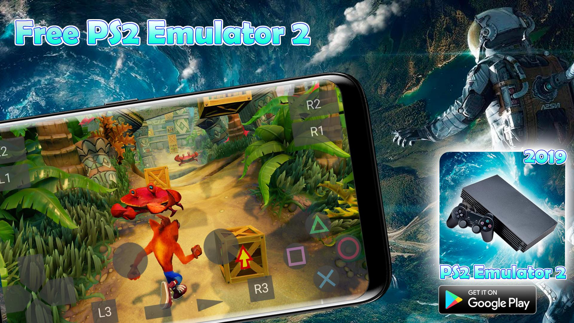 Free Pro PS2 Emulator 2 Games For Android 2019 for Android