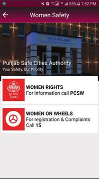 PSCA - Women Safety screenshot 2