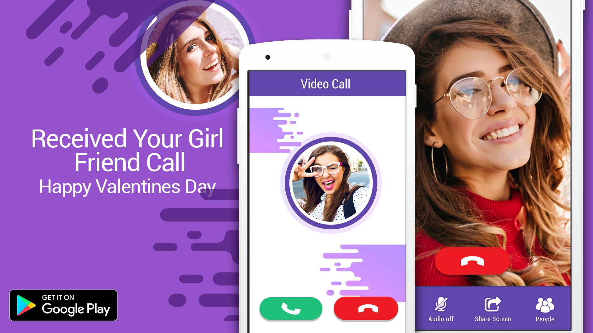 Video call your girlfriend