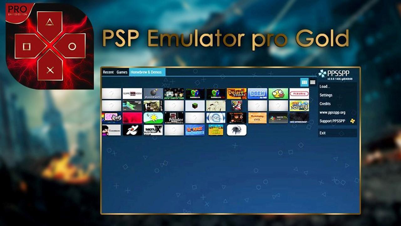 PSP Emulator Gold Pro 2019 for Android - APK Download