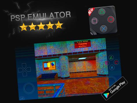 PSP Emulator - PSP Spil til Android captura de pantalla 3