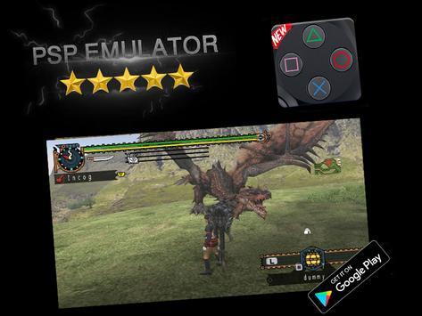 PSP Emulator - PSP Spil til Android captura de pantalla 1
