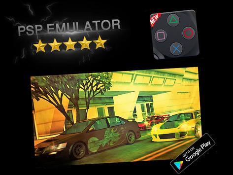 PSP Emulator - PSP Spil til Android captura de pantalla 2